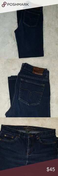Ralph Lauren jeans Ralph Lauren jeans like new condition no rips or stains Ralph Lauren Jeans Boot Cut