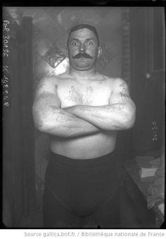 Bayard [portrait du lutteur] : [photographie de presse] / [Agence Rol] - 1