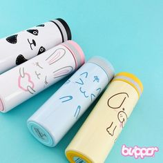 Buy Cute Animal Thermos Bottle | Free Shipping | Blippo Kawaii Shop
