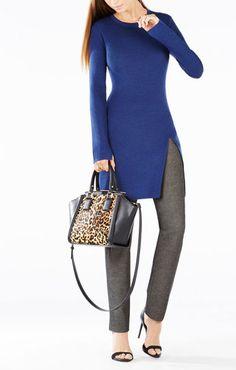 Madyson Wool Tunic Sweater