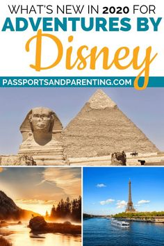 Adventures By Disney 2020 itineraries bring new and updated adventures, including reimagined departures, exclusives, promotions and Disney travel magic. Disney Tips, Disney Magic, Disney Parks, Disney Planning, Disney Destinations, Disney Vacations, Disney Travel, Dream Vacations, Nile River Cruise