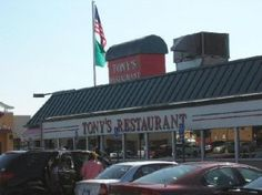 World Famous Tony's Restaurant off I-75 in Birch Run  Best hamburgers ever..and bacon..If you're going up North and have to go by Tony's, you always stop there.