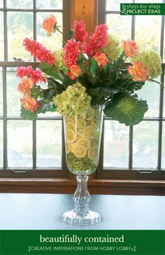 hobby lobby floral arrangement idea