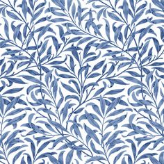 William Morris Willow, blue, green and white