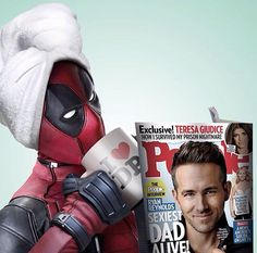Ryan Reynolds Spoofs Kanye West's SNL Rant as Deadpool Dead Pool, Comic Book Characters, Comic Books, Deadpool Love, Deadpool Art, Spideypool, Ryan Reynolds, Marvel Dc Comics, Marvel 2099