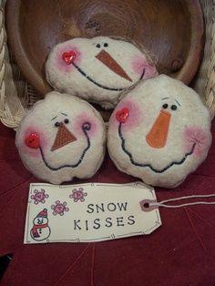 Snowmen ornaments – cute faces | best stuff