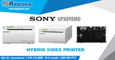 The Sony UP-X898MD black and white video graphic printer is designed specifically for use with medical diagnostic equipment. This light weight printer offers high image quality, USB interface, and easy operation. Learn more about medical printers, call our toll-free at 800.400.7972 or shop online www.ampronix.com