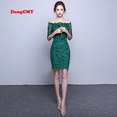 Cheap cocktail dresses, Buy Quality cocktail dress fashion directly from China lace cocktail dresses green Suppliers: DongCMY New 2017 short fashion elegant medium sleeves lace green color Party bandage Cocktail Dress Cocktail Dress 2017, Green Cocktail Dress, Cheap Cocktail Dresses, Cheap Party Dresses, Trendy Dresses, Elegant Dresses, Green Dress, Nice Dresses, Short Dresses