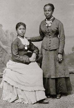 Victorian Women, Edwardian Era, Victorian Era, 19th Century Fashion, African Diaspora, Photo Black, African American History, Vintage Pictures, Black History