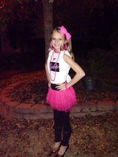 Cool barbie costume  sc 1 st  Pinterest & Toddler 50u0027s Poodle Skirt Barbie Costume - Barbie Costumes | For the ...