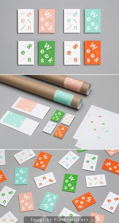 Identity for illustrator Ben Weeks by Tung.