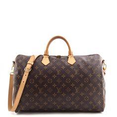 d211e90a1e4b Louis Vuitton Monogram Speedy 40 Bandouliere