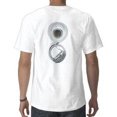 """Play Heavy Metal"" Sousaphone/Tuba Shirt"