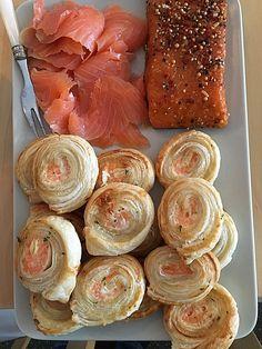 Blätterteig - Lachs - Schnecken 1