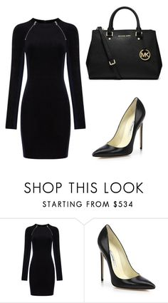 """MK"" by skajackson on Polyvore featuring T By Alexander Wang, Brian Atwood and MICHAEL Michael Kors"