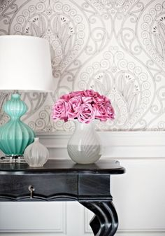 Choosing the Right Colors for your Home: Blush & Turquoise