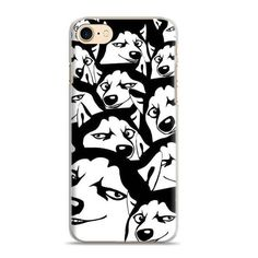 Free Pug Product -Coque Cute Puppy Pug Originality Phone Case Siberian Husky Shell Cover For Apple iPhone 7plus 7 6splus 6s 6plus 6 5 5s se 4S 4