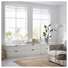 IKEA SCHOTTIS pleated blind Easy to attach to your window frame. No drilling needed. Store Bateau, Grey Roller Blinds, Ceiling Materials, Ikea Family, Window Coverings, Curtain Rods, Windows, Living Room, Interior Design