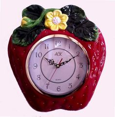 Strawberry clock just makes sense