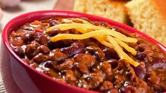 """A Chili Recipe to Warm Your Soul, I'll be replacing the meat with some vegetarian """"meat"""""""