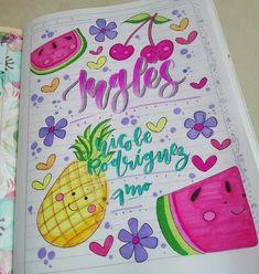 Bullet Journal Books, Book Journal, 3rd Grade Art, School Notebooks, Kawaii Doodles, Cute School Supplies, Decorate Notebook, Notebook Covers, Filofax