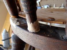 Repairing broken spindles diddle dumpling: Before and After: Antique Rocking Chair Restoration