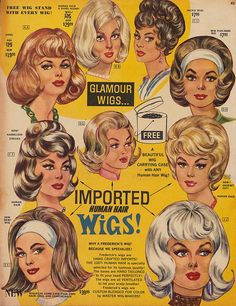 Hairstyles With Bangs .Hairstyles With Bangs Retro Mode, Mode Vintage, Vintage Ads, Vintage Comics, Vintage Images, Retro Hairstyles, Hairstyles With Bangs, Hairstyles Videos, Bandana Hairstyles