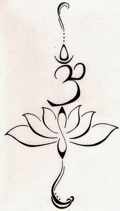 ♥ ♫ ♥ Om Lotus tattoo. this is the perfect combination of everything- even the little infinity. too gorgeous. ♥ ♫ ♥