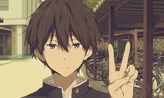 #anime #hyouka #oreki #houtarou