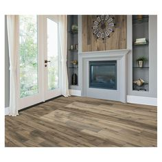 MARAZZI Montagna Harvestwood 6 in. x 36 in. Glazed Porcelain Floor and Wall Tile (14.50 sq. ft. / case)-MT36636HD1PR - The Home Depot