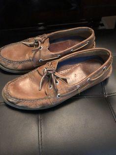 Dearfoam Mens Moccasin Slippers COFFEE Original Whipstitch NEW Size: S M XL L