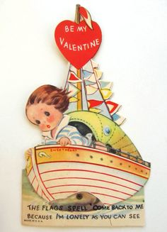 Vintage Lonely Girl at Bow of Boat Mechanical by HappyAnatomy, $8.00
