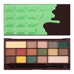 I Heart Makeup I Heart Mint Chocolate Eyeshadow Palette | Pretty sure this is a ABH Subculture Dupe!!!!