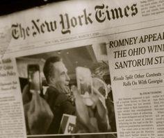 新聞もスマホで撮るのを撮っている。