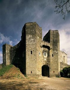 Within the 15th-century defences of the Pomeroy family castle in Devon, England, looms the dramatic ruined shell of its successor, the great Elizabethan mansion of the Seymours. Begun in c.1560 and ambitiously enlarged from c.1600, their mansion was intended to become the most spectacular house in Devon. Although never completed, and abandoned by 1700, it is said to be home to numerous spectres.