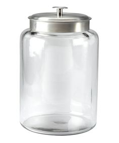 Montana 2.5-Gal. Jar by Anchor Hocking on #zulily today! Add some vinyl... CUTE!
