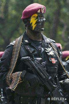 Unidad-fusilero paracaidista del grupo de fuerzas especiales-Mexico c1fcb48b518