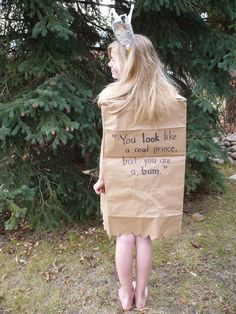 paper bag princess costume patterns - Google Search Character Dress Up, Book Character Day, Book Character Costumes, World Book Day Costumes, Book Week Costume, Book Costumes, Paper Bag Princess Costume, Indian Princess Costume, Princess Costumes