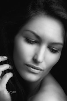 Women's beauty portraits - Model:Marina S.