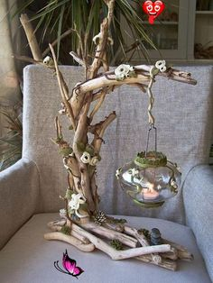 DIY and Craft Ideas  <br> Diy Home Crafts, Garden Crafts, Diy Home Decor, Garden Art, Decoration Crafts, Decorations, Teen Crafts, Room Decor, Fairy Garden Houses