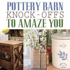 Amazing Pottery Barn Knock-offs - The Cottage Market