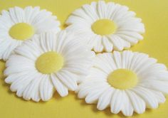 Daisy Soap Favors  20 Soaps for Shower Wedding by EsscentsSoaps, $25.00