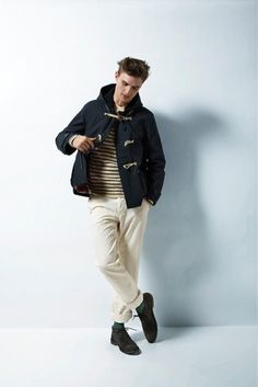Saved by Discover more of the best Sebastian, Fatale, Clothing, Shoes, and Dude inspiration on Designspiration Shoe Image, Duffle Coat, Mens Style Guide, Style Guides, How To Look Better, Street Wear, Bomber Jacket, Normcore, Style Inspiration