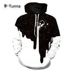 2017 Newest 3D Print Christmas Halloween Skull Theme Pullover Hoodies for Women/men Causal Loose Plus Size Sweatshirts Femme #Brand #W-Yunna #sweaters #women_clothing #stylish_dresses #style #fashion