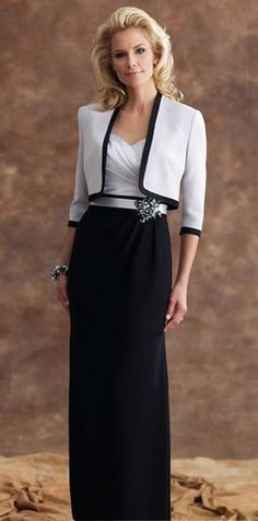 Elegant  Floor-length Mother Of The Bride Dresses