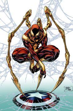 Iron Spider-Man Iron Man Spiderman Captain America (shield)