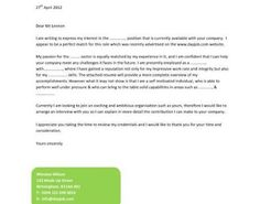 Cover Letter Sample Format How To Write A Great For Scientific Manuscript Simple Templates 35 Free Example