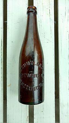 Vintage Schmulbach Brewing Co. Wheeling, West Virginia Early 1900's Beer Bottle