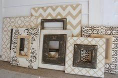 Natural Neutral Wall Grouping Gallery