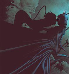 toddjasons:  What next, husband?  Catwoman & Batman by Jae...